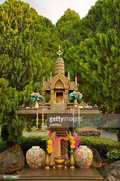 Thai Buddhist Shrine