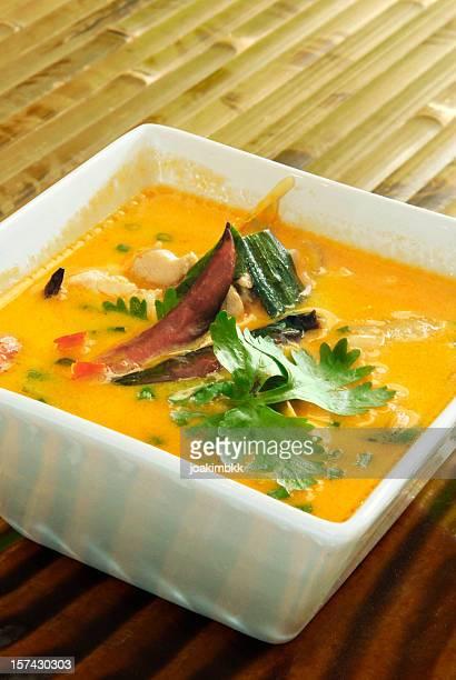 Thai Chicken red curry dish