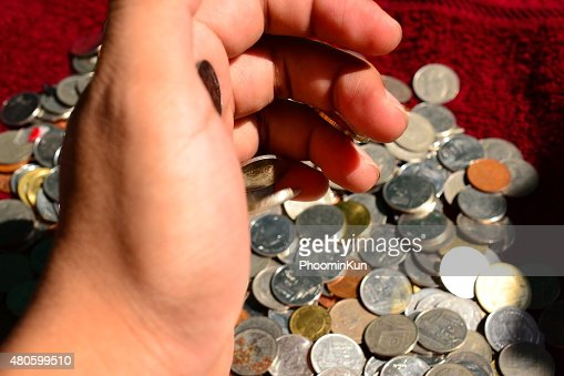 Thai Coin : Stock Photo