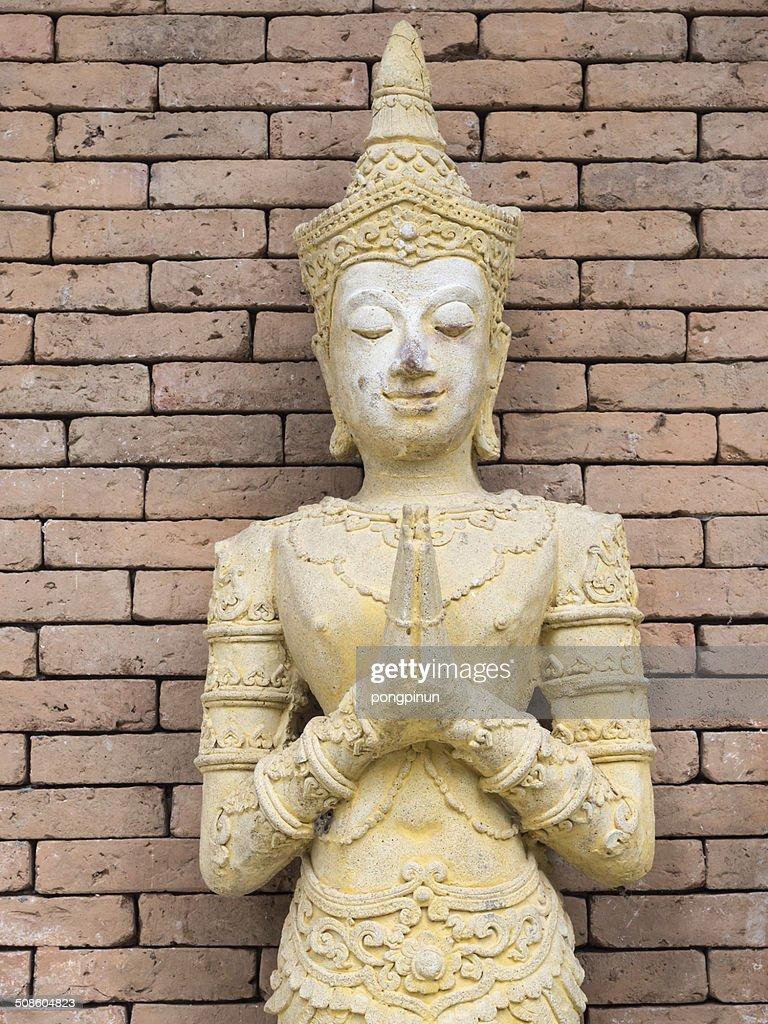 Cultura Tailandesa moldado Figura : Foto de stock
