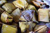Asia, Thailand, Arts Culture and Entertainment, Banana Leaf