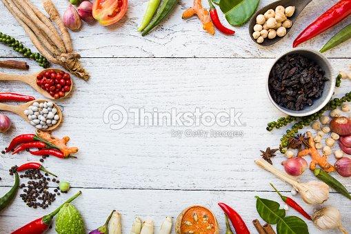 Thai food ingredients vegetable spicy taste stock photo thinkstock thai food ingredients vegetable spicy taste forumfinder Choice Image