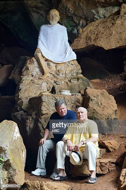 NEVER 'A Thai Goodbye' Episode 10506 Pictured William Shatner Terry Bradshaw