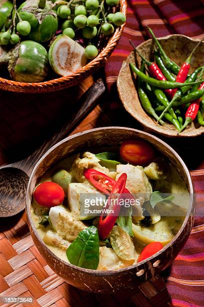 Thai Green Curry With Chicken
