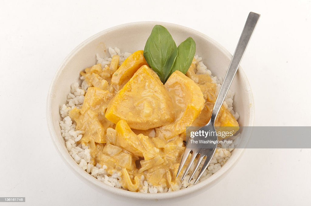 Thai Kabocha Curry is seen in the studio on Wednesday December 21 2011 in Washington DC