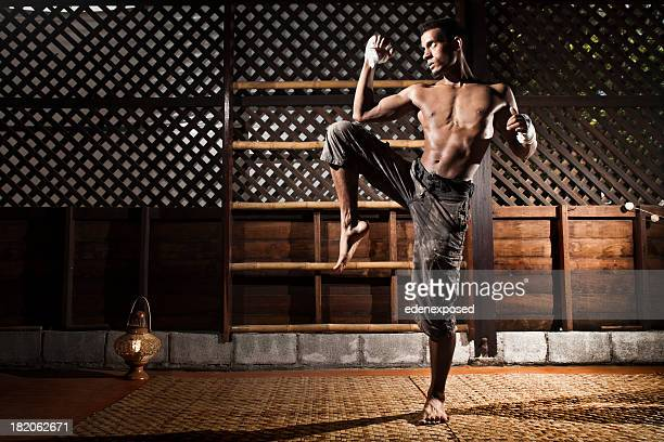 Thai-Kickboxen Training