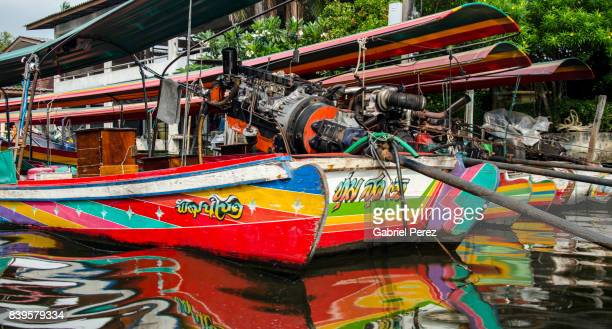 A Thai Long-tail Boat, Bangkok