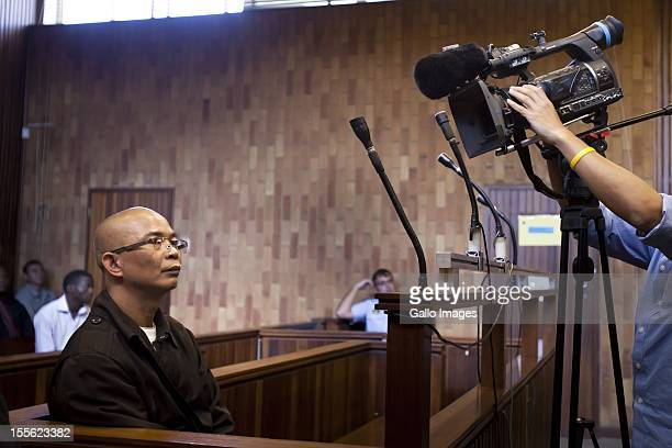 Thai national Chumlong Lemtongthai at the Kempton Park Magistrate's Court on November 5 2012 in Johannesburg South Africa Lemtongthai pleaded guilty...
