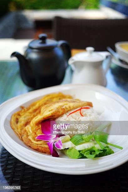 Thai omurice in Phuket