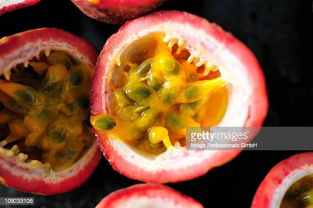Thai passion fruit, close-up