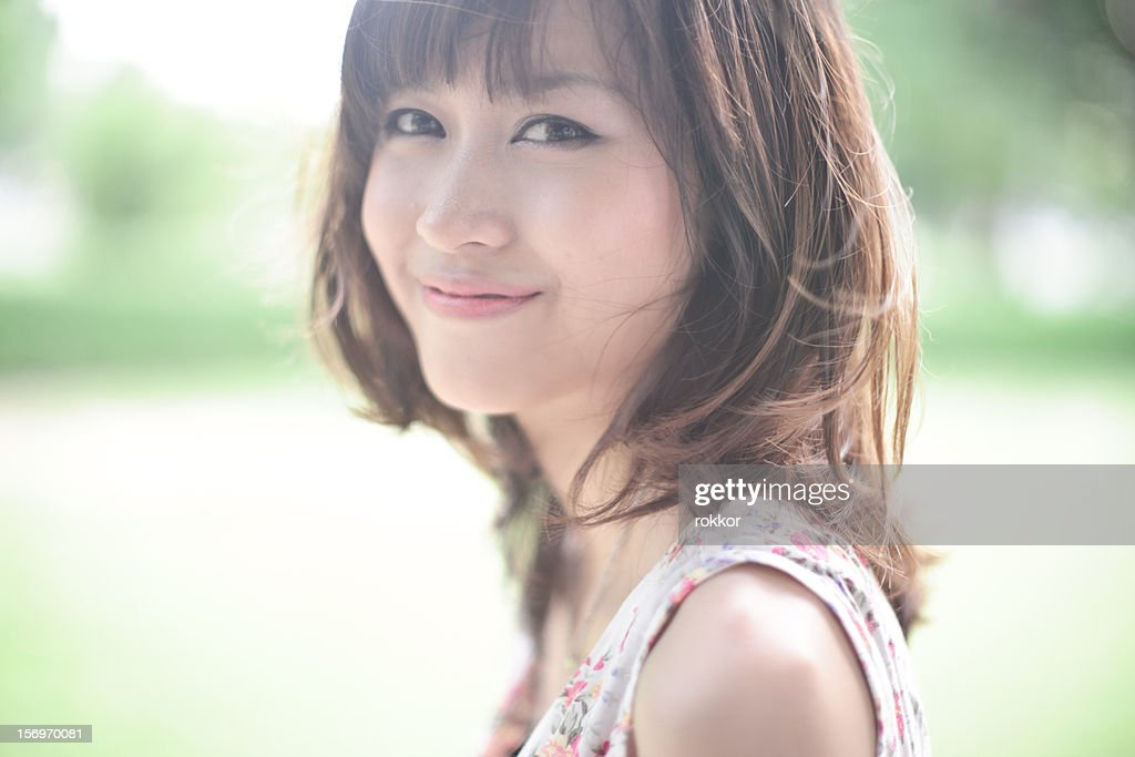 Thai Smile happy : Stock Photo