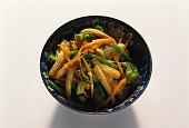 Thai Stir Fry Vegetables in Bowl