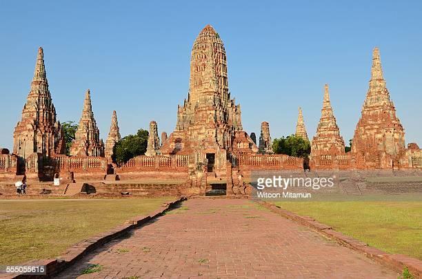 Thai temple in Ayutthaya
