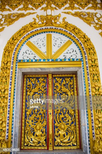 Thai-Tempel Fenster : Stock-Foto