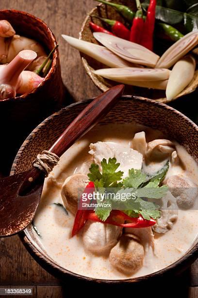 Thai Tom Kha Gai Soup