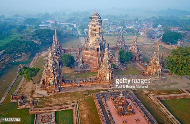 Thailand, Ayutthaya, Wat Chai Wattanaram