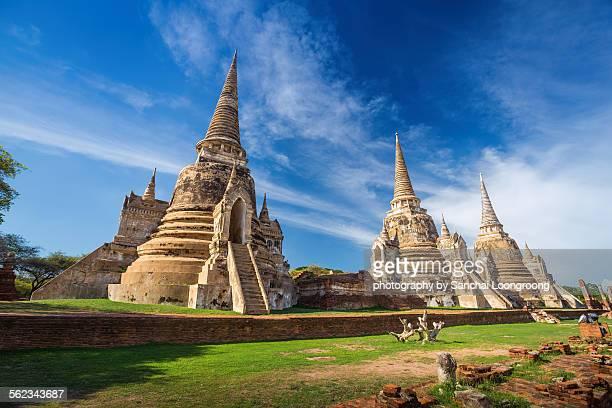 Thailand, Ayutthaya, Wat Phra Si Sanphet