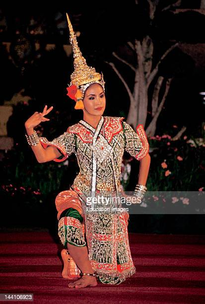Thailand Bangkok Ramayana Performance Female Dancer