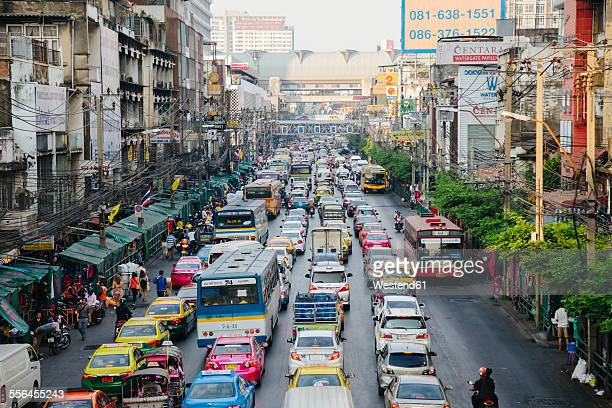 Thailand, Bangkok, traffic jam
