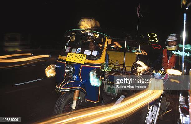 Thailand, Bangkok, Tuk Tuk Taxi