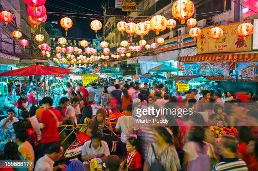 Thailand, Bangkok,Chinatown,Chinese New Year