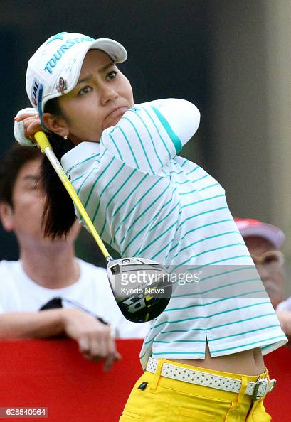 PATTAYA Thailand Japan's Ai Miyazato tees off on the No 10 hole in the second round of the Honda LPGA golf tournament at Siam Country Club in Pattaya...