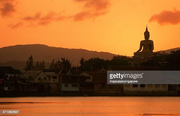 Thailand, Ko Samui, Buddha statue.