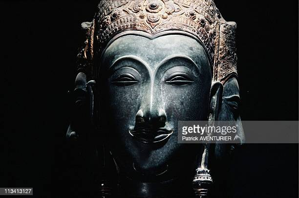 Thailand NorthEast And Khmer Temples On June 1St 1998 In Thailand bronze Statue Of Shiva