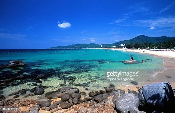 Thaïlande, Phuket, Kata de la plage.