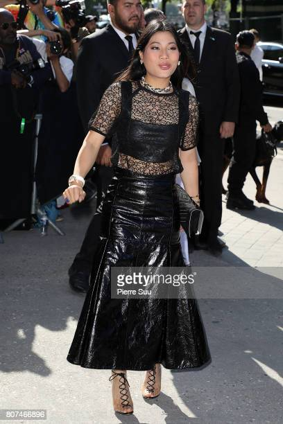 Thailand Princess Sirivannavari Nariratana arrives at the Chanel Haute Couture Fall/Winter 20172018 show as part of Haute Couture Paris Fashion Week...