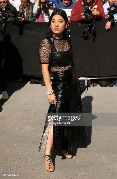 Thailand Princess Sirivannavari Nariratana attends the 'Chanel' show during Paris Fashion Week Haute Couture Fall/Winter 20172018 on July 4 2017 in...