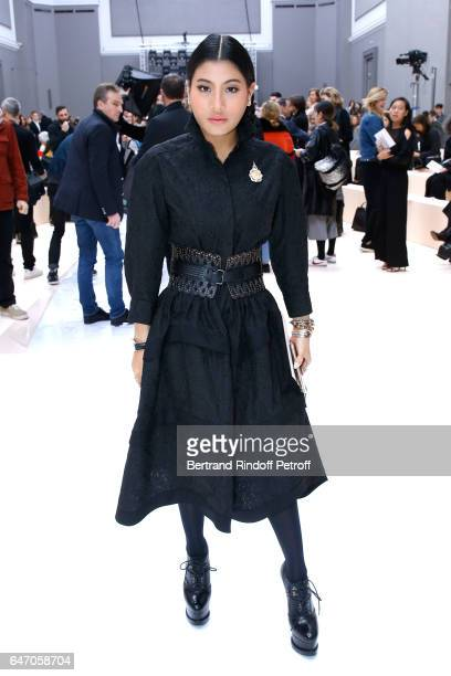 Thailand Princess Sirivannavari Nariratana attends the Chloe show as part of the Paris Fashion Week Womenswear Fall/Winter 2017/2018 on March 2 2017...
