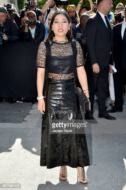 Thailand Princess Sirivannavari Nariratana is seen arriving at the 'Chanel' show during Paris Fashion Week Haute Couture Fall/Winter 20172018 on July...