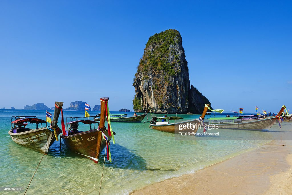 Thailand, Railay beach, Hat Tham Phra Nang beach