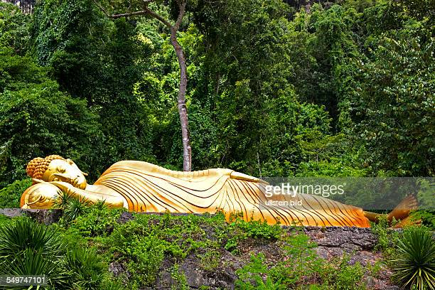 Thailand South Thailand Asia Buddhism Andaman Sea South East Asia religious sign temple architecure buddha cave temple buddha monkey temple lying...