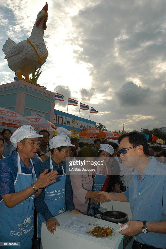 Thailand Victim Of Avian Influenza Virus. La fièvre du poulet ou virus H5N1 sévit en