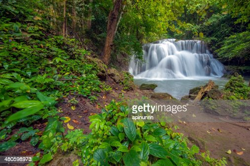 Thailand waterfall : Stock Photo