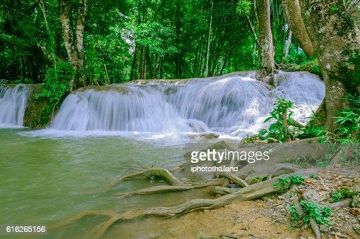Thailand waterfalls : Stock Photo