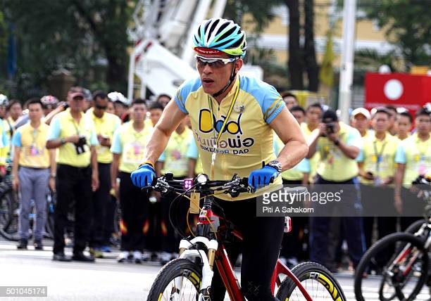 Thailand's Crown Prince Maha Vajiralongkorn cycles in the 'Bike for Dad' event in Bangkok Thai Crown Prince Maha Vajiralongkorn led thousands of...
