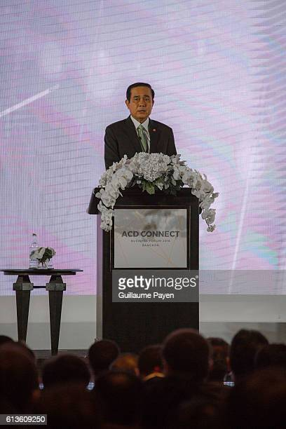 Thailands Prime Minister Prayut ChanoCha give a speech address on The Indispensable Role of Business in the Evolution of ACD during the 2nd Asia...