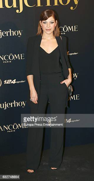 Thais Blume attends 'Mujer Hoy' Awards 2016 at Casino de Madrid on January 25 2017 in Madrid Spain