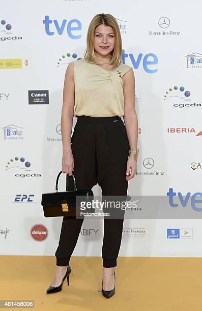 Thais Blume attends the 2015 Jose Maria Forque Awards at The Palacio Municipal de Congresos on January 12 2015 in Madrid Spain