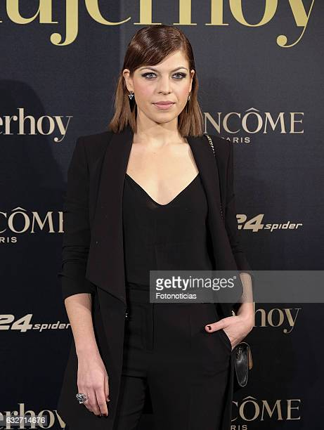 Thais Blume attends the 2016 'Mujer Hoy' awards ceremony at the Casino de Madrid on January 25 2017 in Madrid Spain
