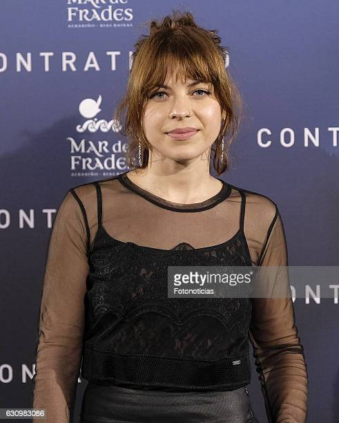 Thais Blume attends the 'Contratiempo' premiere party photocall at the Reina Sofia Museum on January 4 2017 in Madrid Spain
