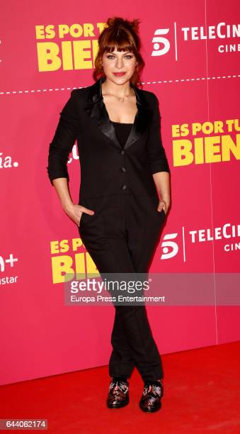 Thais Blume attends the 'Es por tu bien' premiere at Capitol cinema on February 22 2017 in Madrid Spain