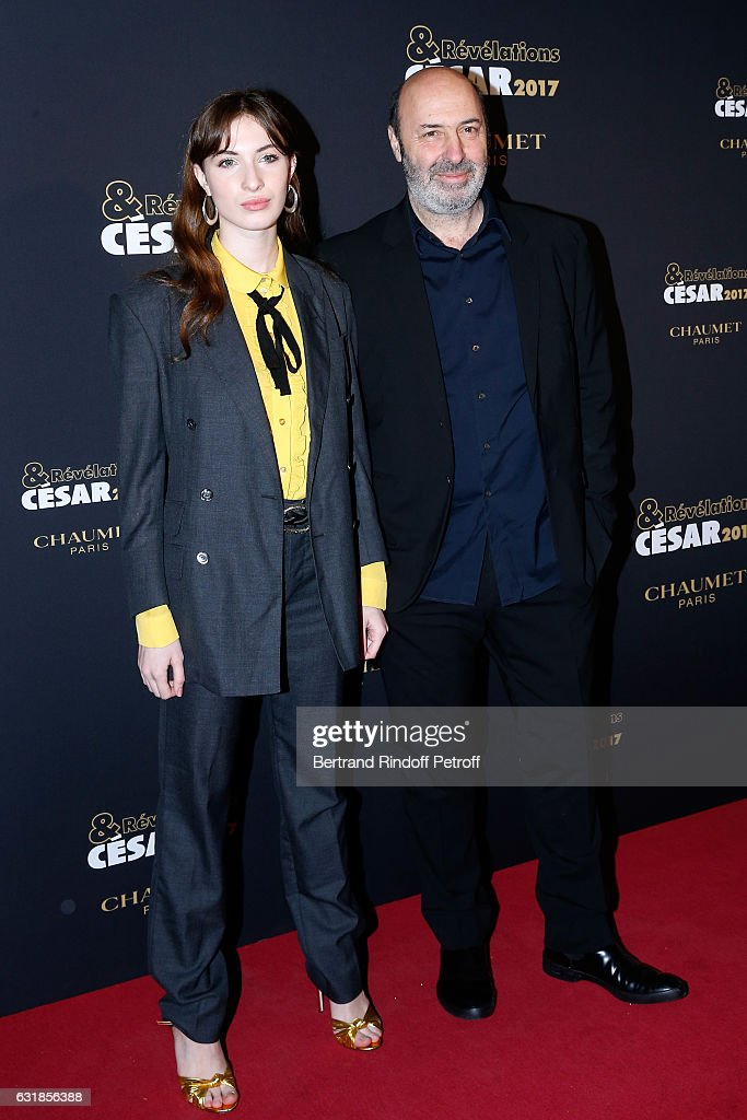 Thais Klapisch and Cedric Klapisch attend the 'Cesar - Revelations 2017' Photocall and Cocktail at Chaumet on January 16, 2017 in Paris, France.