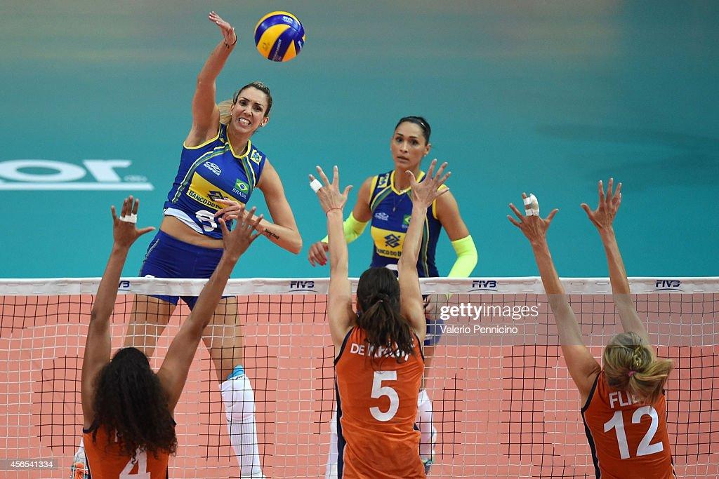 Brazil v Netherlands - FIVB Women's World Championship