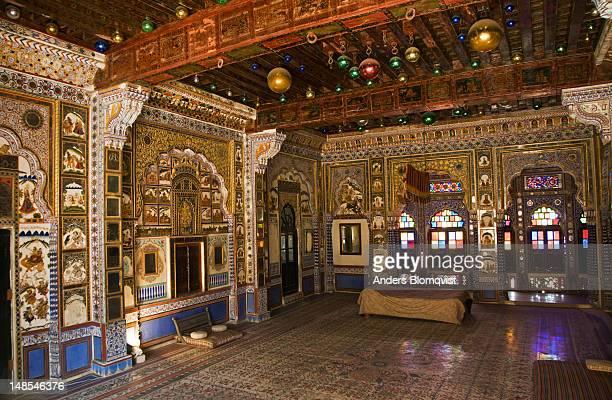 Thakat Vilas, Maharaja Thakat Singh's private chambers, in Meherangarh Fort.