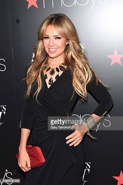 Thalia appears at Macy's Presents Fashion's Front Row After Party at Macy's Herald Square on September 17 2015 in New York City