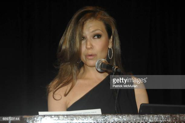 Thalia attends NEW YORK CITY POLICE FOUNDATION 31st Annual Gala at Waldorf Astoria on March 3 2009 in New York City